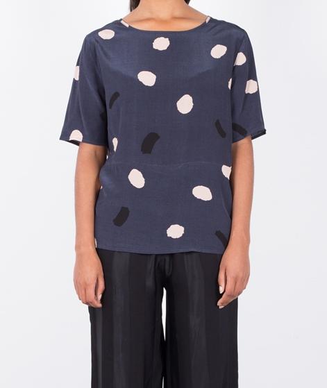 SECOND FEMALE New Drip Bluse crispy navy