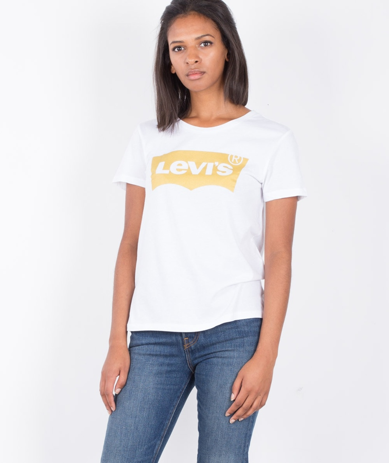 LEVIS Batwing T-Shirt gold