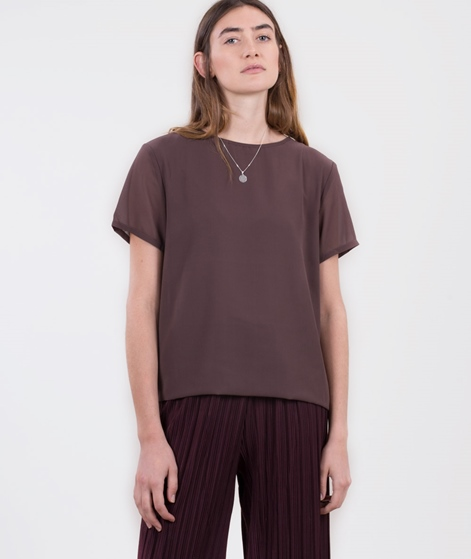 POPCPH Georgette Layered T-Shirt java
