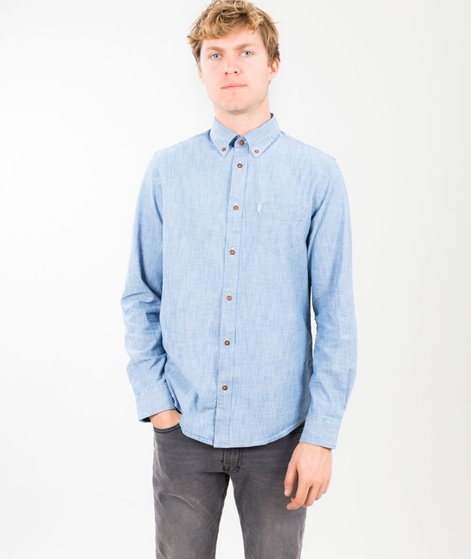 BEN SHERMAN New Chambray Hemd sky blue