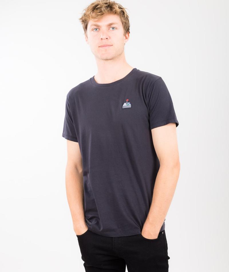 KAUF DICH GLÜCKLICH Franz T-Shirt blau