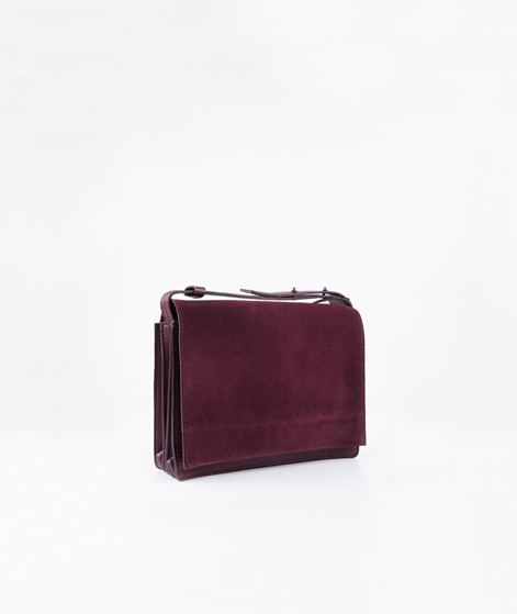 JUST FEMALE Tod Tasche oxblood