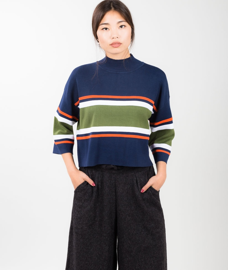 NATIVE YOUTH Refraction Knit Pullover