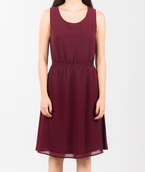 POP CPH Georgette Kleid bordeaux