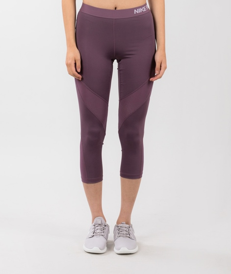 NIKE Pro Hypercool Leggings purple shade