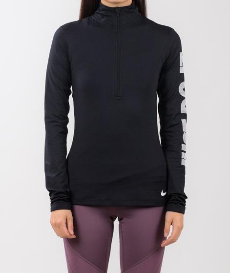 NIKE Pro Warm Top Longsleeve black/white