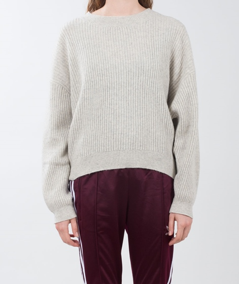 JUST FEMALE Corn Knit Pullover light fog