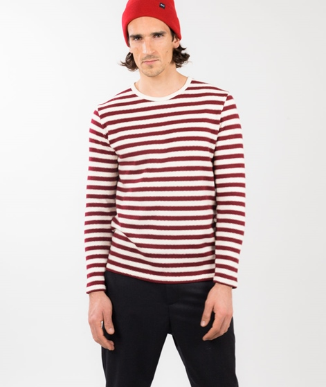 MINIMUM Terrace Longsleeve maroon