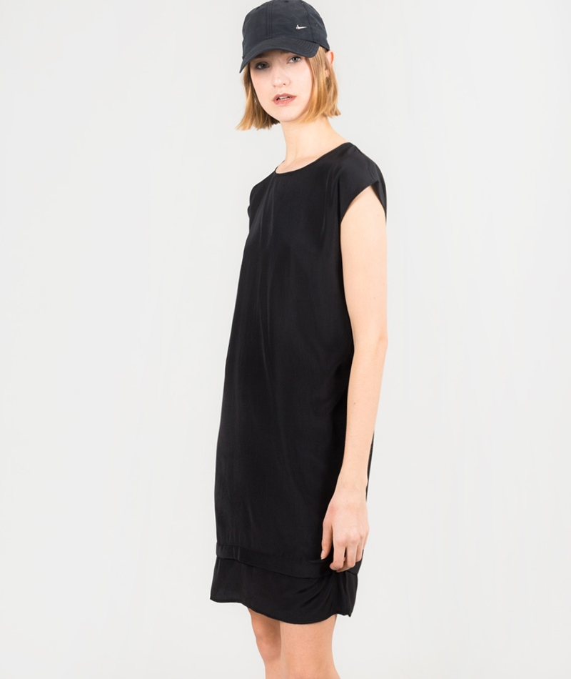 MINIMUM Lista Kleid black