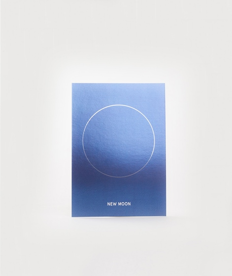 KAUF DICH GLÜCKLICH Postkarte New Moon