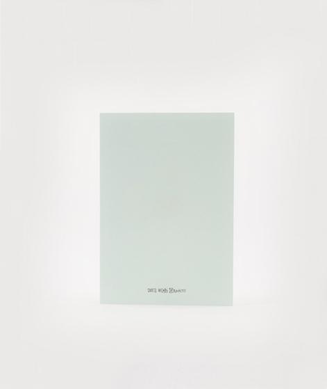 KAUF DICH GLÜCKLICH Postkarte Ei