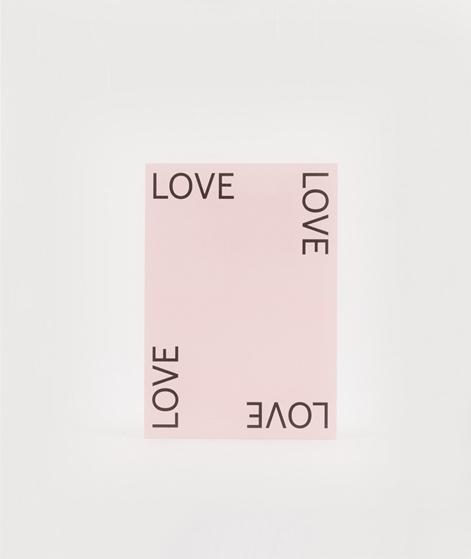 KAUF DICH GLÜCKLICH Postkarte Love 2