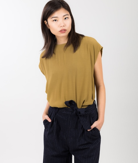 MINIMUM Sennet Bluse dull gold