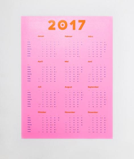 KAUF DICH GLÜCKLICH Poster Kalender