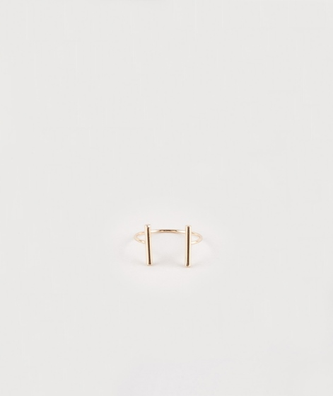 MOSS CPH Strike Ring shiny gold