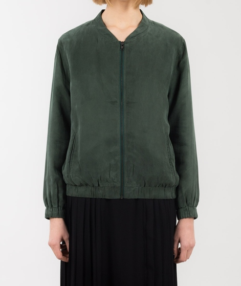 POP CPH Cupro Jacke hunter green