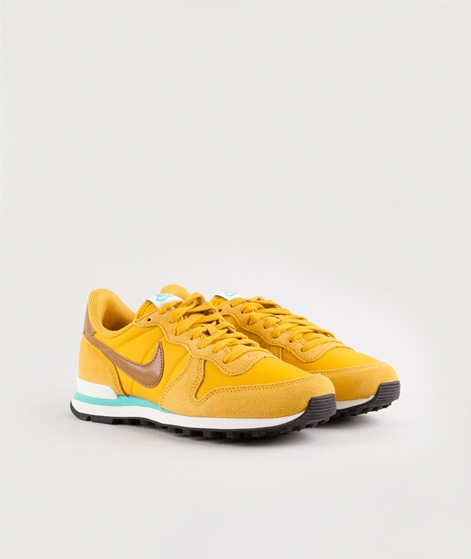 NIKE Internationalist Sneaker gelb