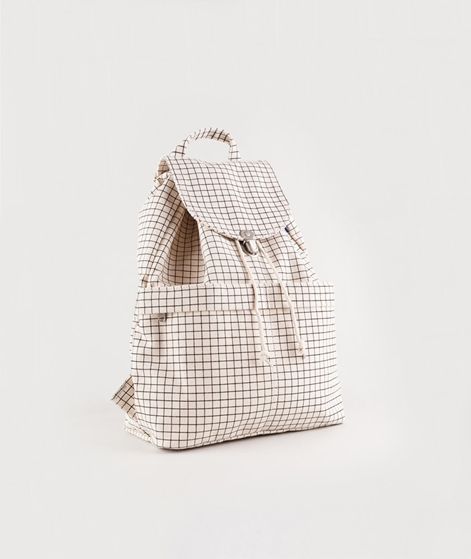 BAGGU Backpack 4 natural grid