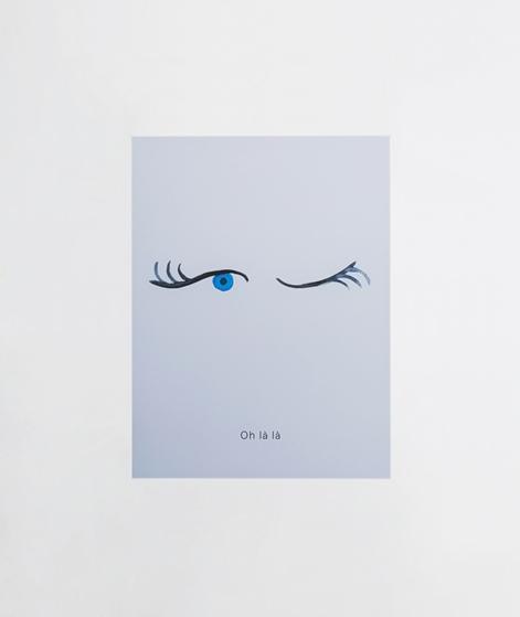 KAUF DICH GLÜCKLICH Poster Oh la la