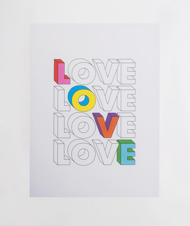 KAUF DICH GLÜCKLICH Poster Love 1