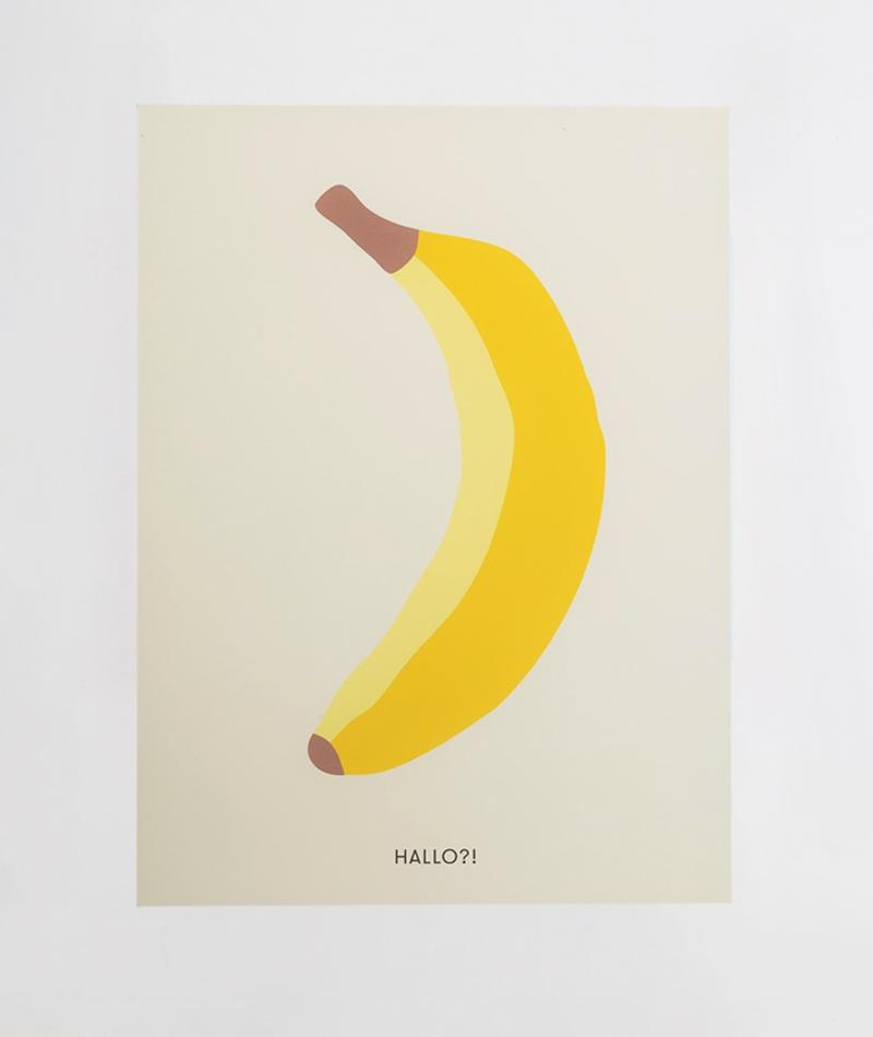 KAUF DICH GLÜCKLICH Poster Banana