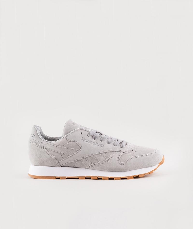 REEBOK CL Leather Bandana solid grey