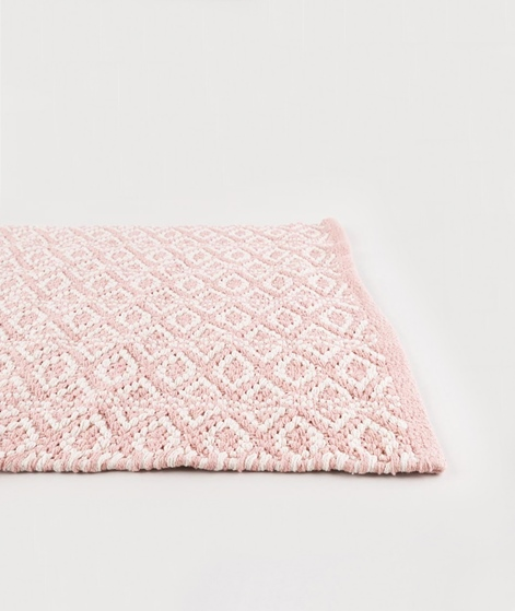 LIV Bergen Cotton Teppich rose/natural