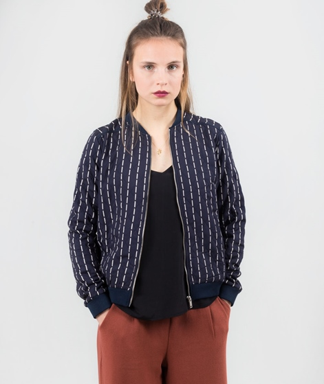 VILA Vistitch Bomber Jacke total eclipse