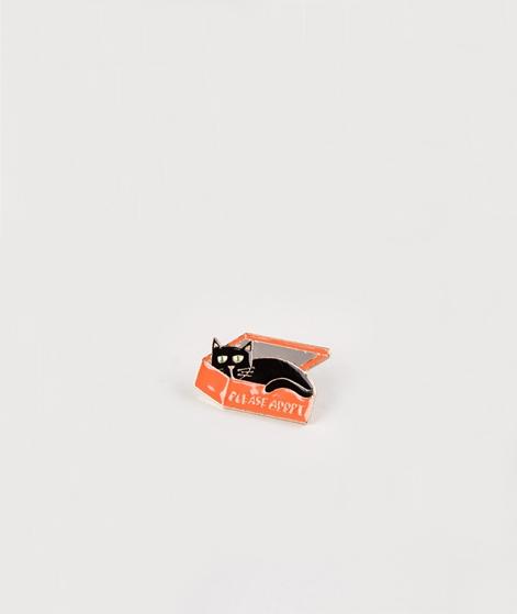 KAUF DICH GLÜCKLICH Cat in a box Pin