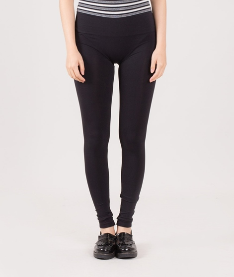 VILA Seam Long Leggins black