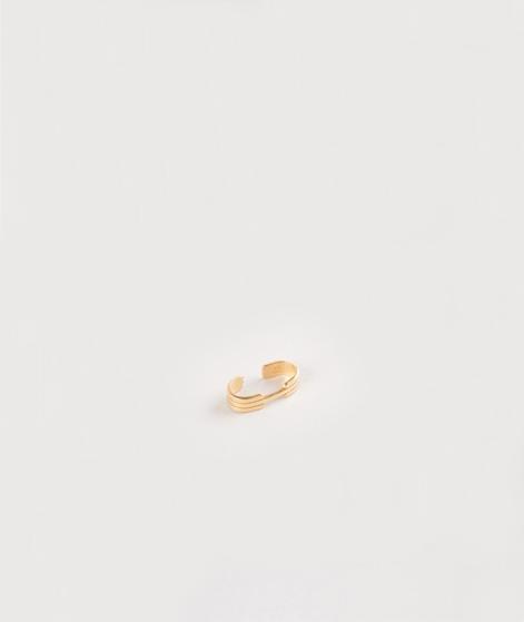 JUKSEREI Oslo Ear Cuff Ohrringe gold