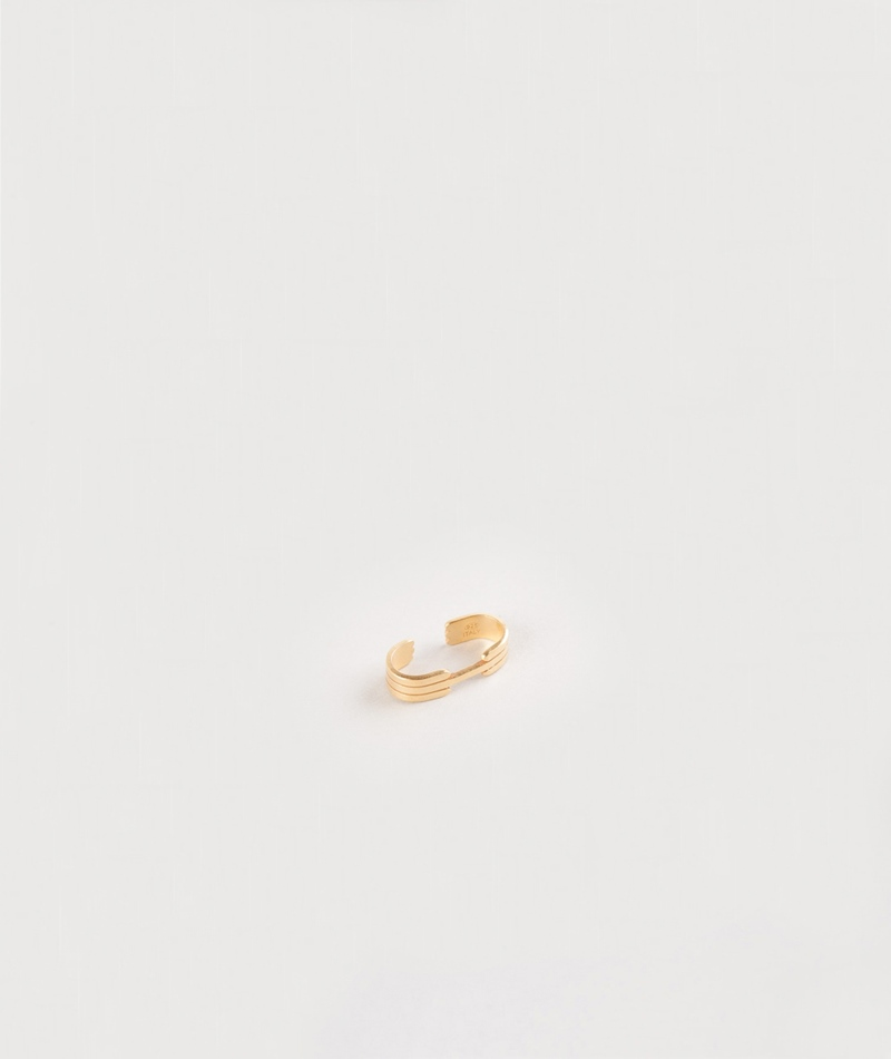 JUKSEREI Oslo Ear Cuff Ohrring gold