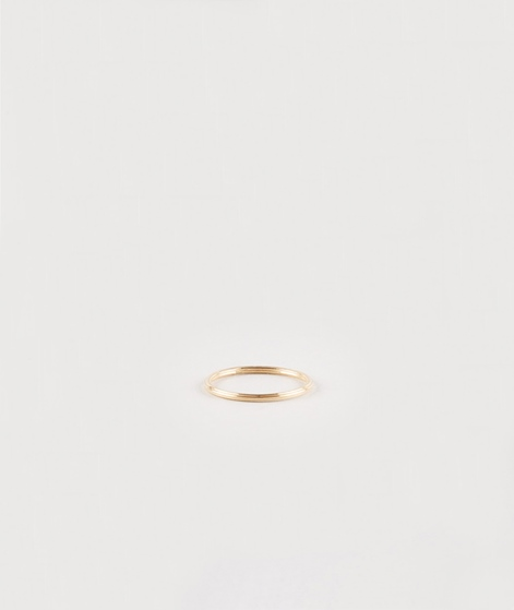 JUKSEREI Rille Ring gold