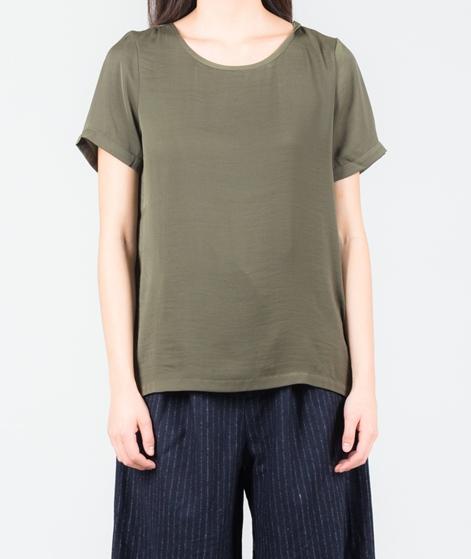VILA Vimelli S/S New Bluse ivy green