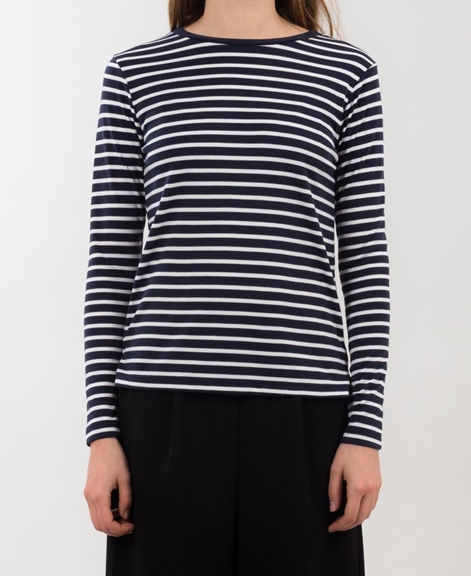 M BY M Lindsay Longsleeve night stripe