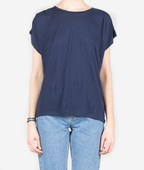 SELECTED SFLomo SS T-Shirt dark sapphire
