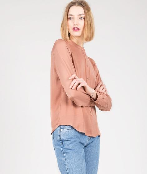 MOSS CPH LuellaPoly Silk Bluse mocha