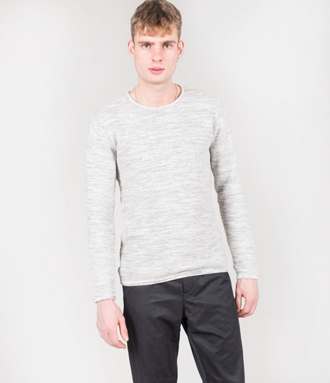 MINIMUM Reiswood Pullover white/metal