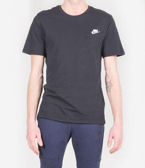 NIKE NSW Club T-Shirt black/black/white