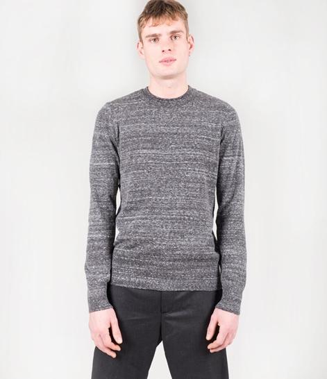 TOPMAN Slub Crew Pullover grey