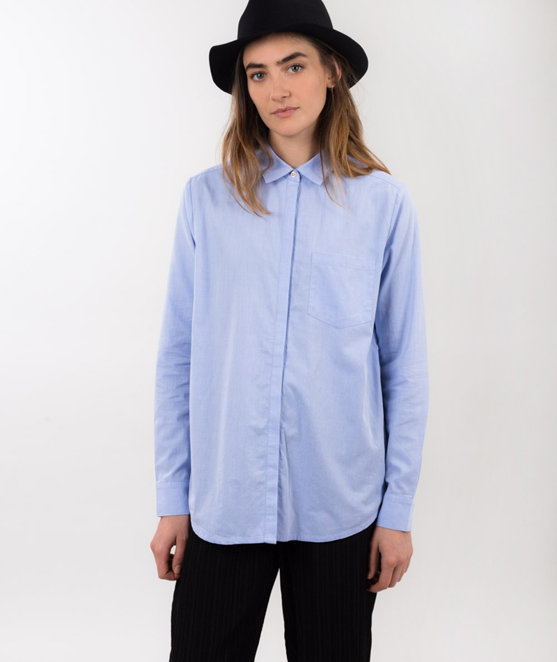 M BY M Caris Bluse cool blue