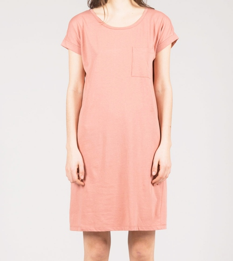VILA Vidreamers S/S Kleid rose dawn