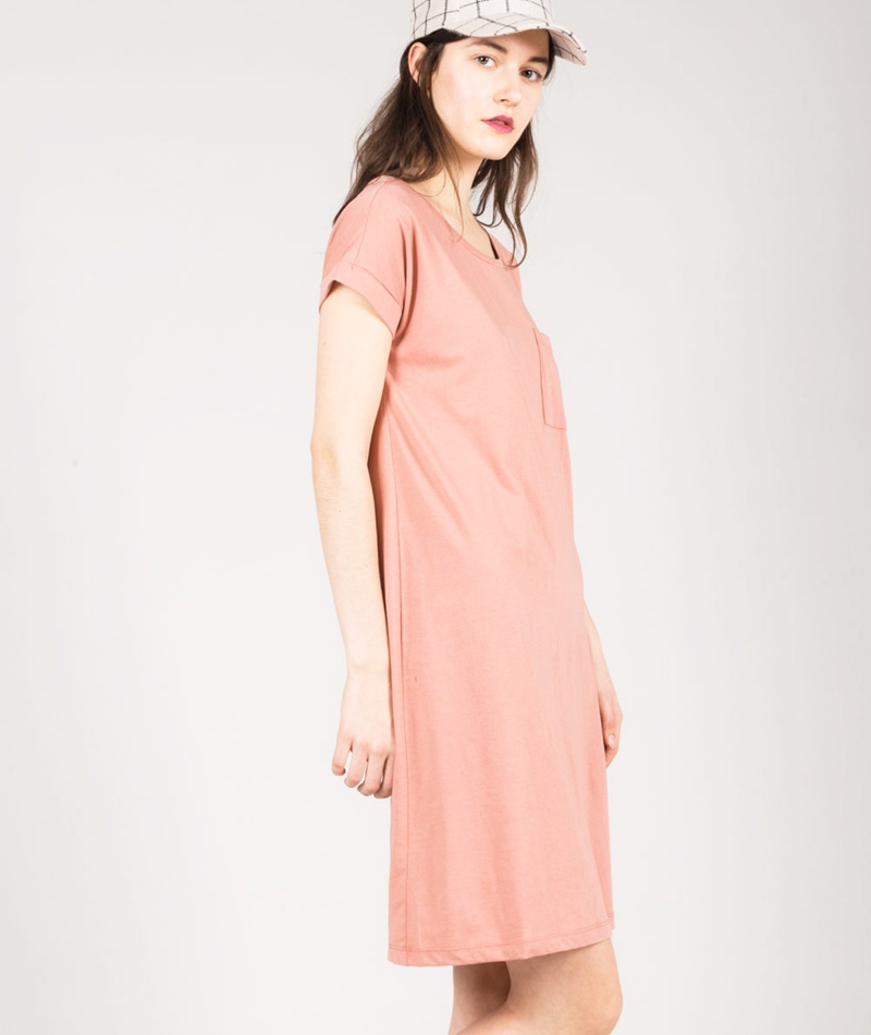 VILA Vidreamers S/S Kleid rose dawn