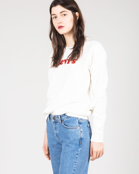 LEVIS Relaxed Graphic Crew Pullover