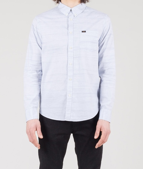 LEE Button Down Hemd halogen blue