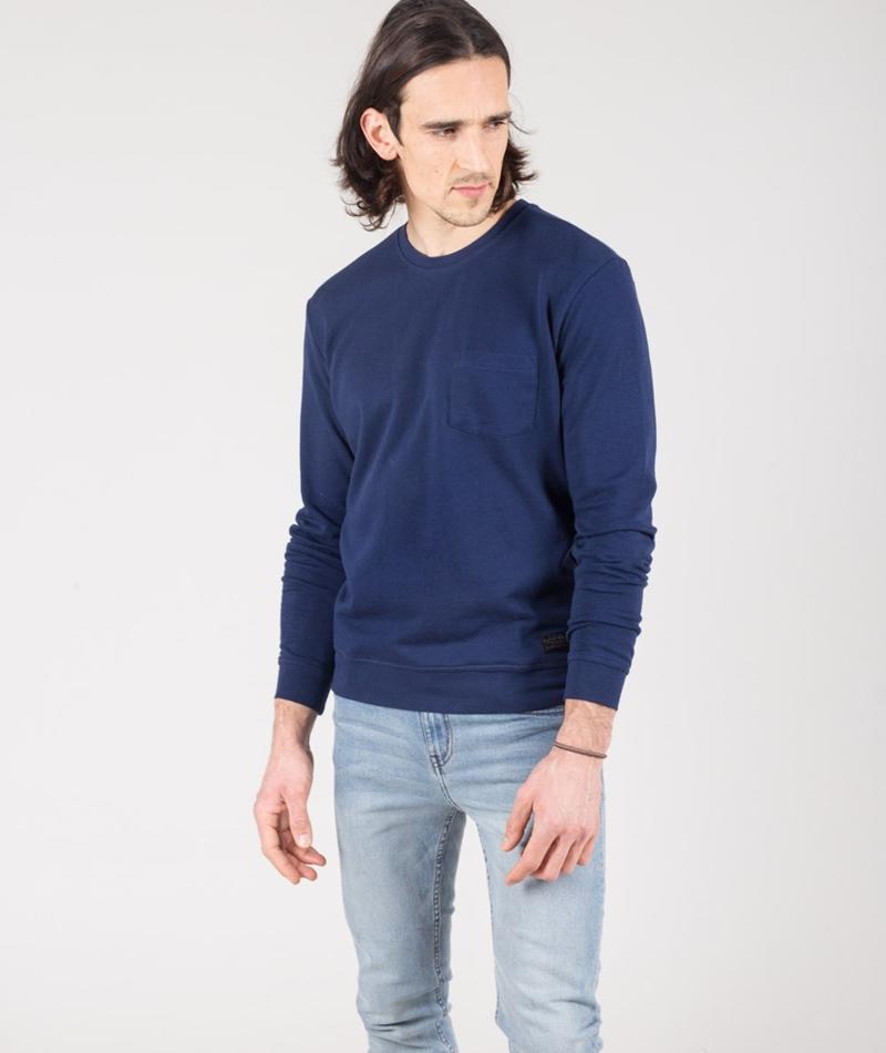 LEE Pocket SWS Pullover deep indigo