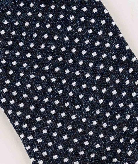 MP DENMARK Nora Socken gemustert blau