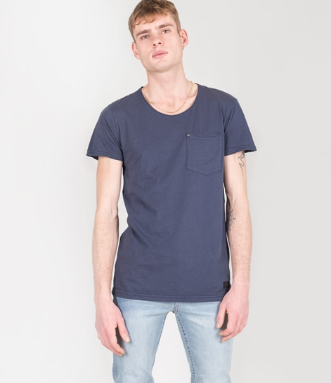 MINIMUM Bradley T-Shirt navy