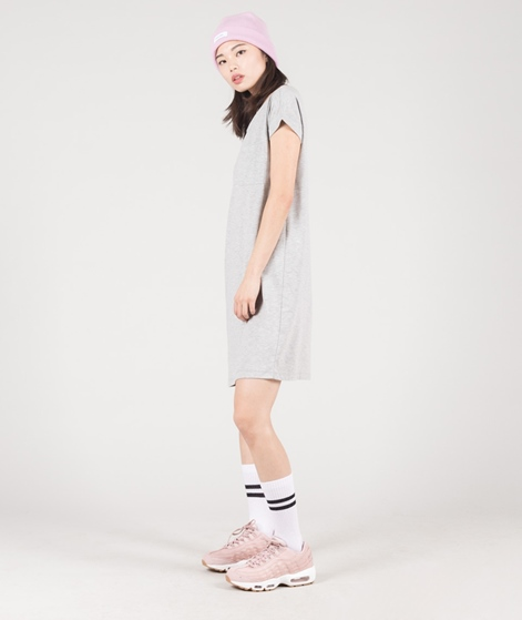 VILA Vidreamers S/S Kleid grey melange