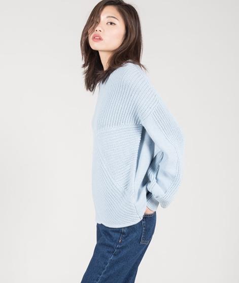 VILA Vilomas Knit Pullover cashmere blue